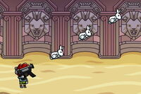 Bunny-shooting Machine Gun