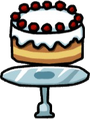 Cake on a Cake Stand