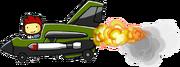 Enemy Fighter Jet Using