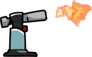Culinary Torch in use
