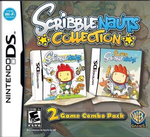Scribblenauts collection box art