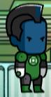 Green Lantern Davo Yull