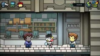 Scribblenauts Unmasked - Boiled Adjective Demonstration