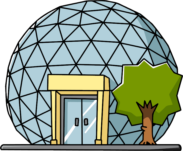 Image result for biodomes clipart