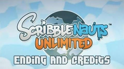Scribblenauts Unlimited Ending and Credits HD 1080P