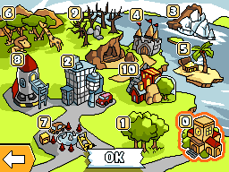 Main map of Scribblenauts