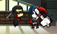 Harley vs. Nightwing
