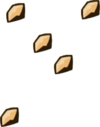 Sawdust Particles