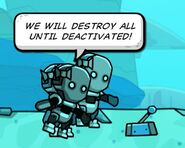 We will destroy all until deactivated!