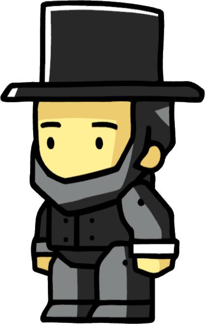 Abraham Lincoln Scribblenauts Wiki Fandom Powered By Wikia