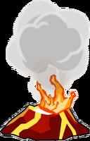 Large Lava Spout