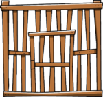 Large Wooden Cage