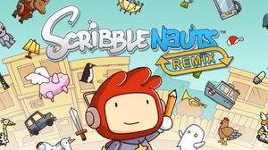 Scribblenauts Remix splash screen