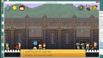 "How to find the secret ""stadium"" test level in Scribblenauts Unlimited"