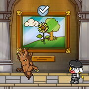 Museum Frame in game