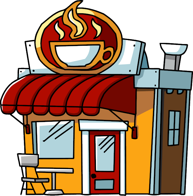 coffee shop scribblenauts wiki fandom powered by wikia rh scribblenauts wikia com coffee shop table clipart coffee shop table clipart