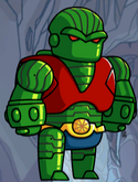 Martian Manhunter Bio Armor Jade Warrior