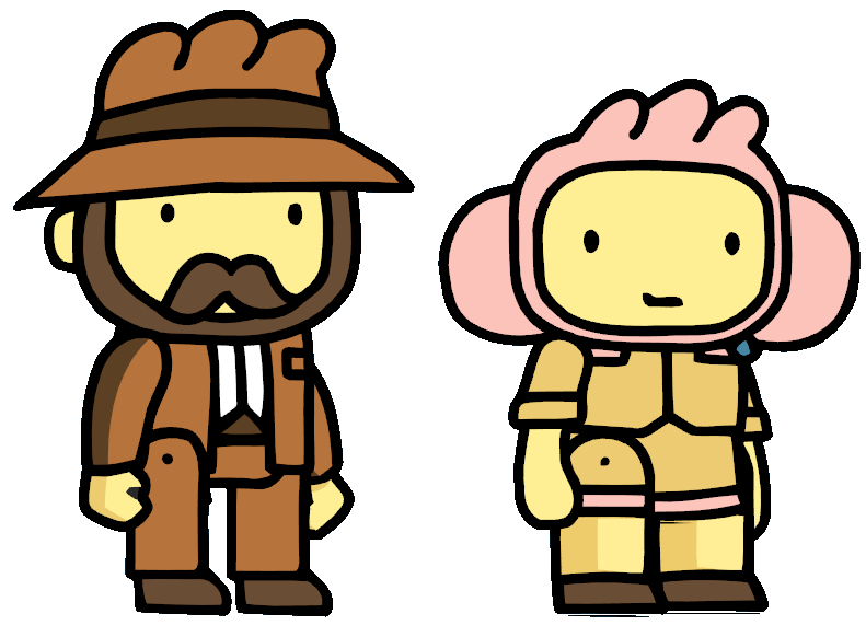 Edgar and Julie | Scribblenauts Wiki | FANDOM powered by Wikia