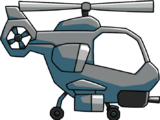 Attack helicopter (Scribblenauts Unlimited)