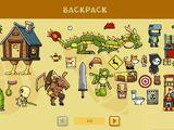 Backpack (game element)