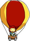Hot Air Balloon Using