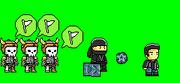 Ninjaskeletons
