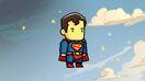 Scribblenauts Unmasked Artwork Superman