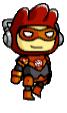 Orange Lantern Costume (Maxwell)