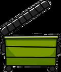 Open Dumpster