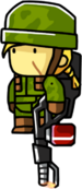 Flamethrower Operator Female