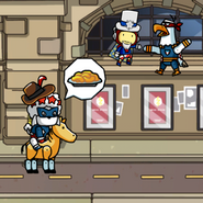 Scribblenauts Unmasked Yankee Poodle and Maxwell