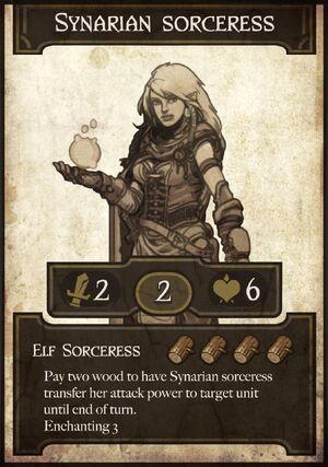 Synarian sorceress
