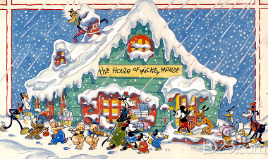 Scrooge Mcduck Christmas.Christmas Party At The House Of Mickey Mouse Scrooge