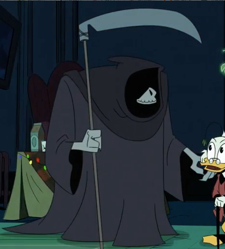 Ducktales Last Christmas.Ghost Of Christmas Future Scrooge Mcduck Wikia Fandom