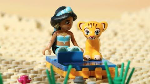 Video - LEGO Disney Princess - Jasmine in the Magic Carpet Adventure