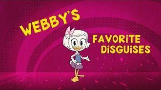 Webby's Favorite Disguises
