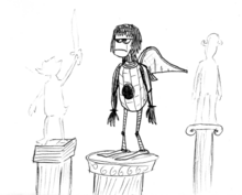 Pessimist-and-the-statues