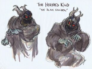 Black cauldron artwork andreas deja 12