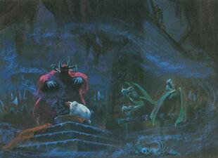Black cauldron artwork color 02