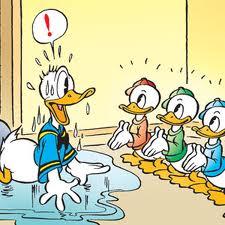 Donald, Huey, Dewey and Louie Meet