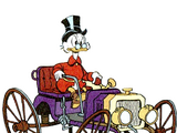 Scrooge McDuck's Old Car