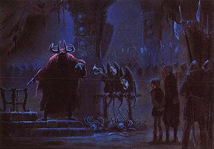 Black cauldron artwork color 04 melvin shaw