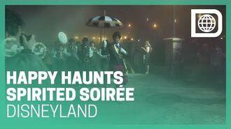 Happy Haunts Spirited Soirée - Haunted Mansion 50th Anniv. - Disneyland