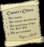 CaptainsOrdersCaptainHook