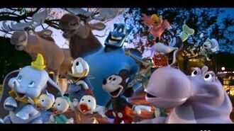 Disneys 50th Anniversary 'Toon Takeover' Television Commercial (2006)