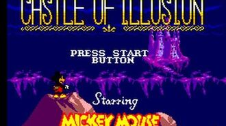 Master System Longplay 010 Castle of Illusion starring Mickey Mouse