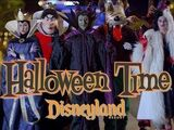 The Villains of Halloween Time at Disneyland Resort