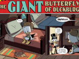 The Giant Butterfly of Duckburg!