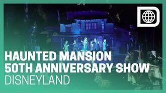 13th Hour - Awaken the Swinging Wake - Haunted Mansion 50th Anniv. Show - Disneyland