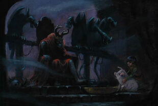 Black cauldron artwork color 15